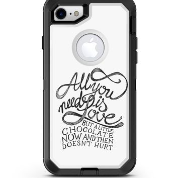 Love and Chocolate - iPhone 7 or 8 OtterBox Case & Skin Kits