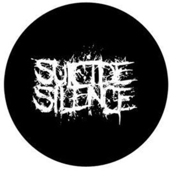 Suicide Silence Buttons - Logo