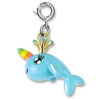 CHARM IT! Rainbow Narwhal Charm