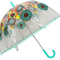 Vera Bradley Bubble Umbrella in Flower Shower