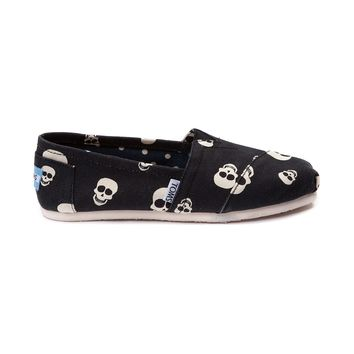 Womens TOMS Classic Skull Schuh Casual Shoe, Black | Journeys Shoes