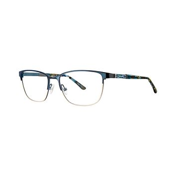 Dana Buchman - Monarch 52mm Navy Eyeglasses / Demo Lenses
