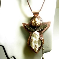 Talisman of Woman's Empowerment Spiritual metaphysical necklace unique