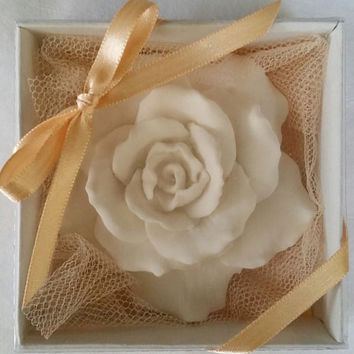 Scented stone rose, Wedding favors , Wedding gifts, Party favor, Birthday gift , Ornament , Home decor