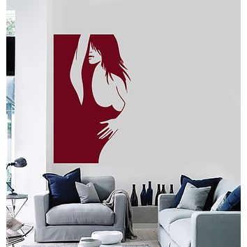 Wall Stickers Vinyl Decal Hot Sexy Woman Girl Bedroom Decor Mural Unique Gift (ig084)