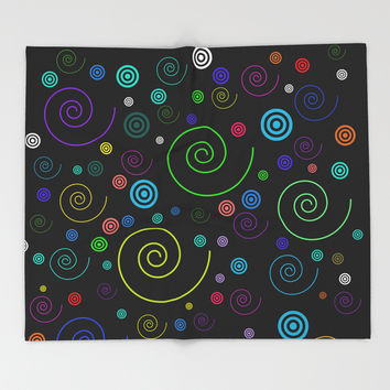 netzauge-fantastic 01 Throw Blanket by netzauge