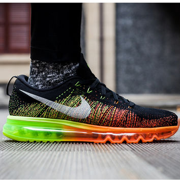 """""""NIKE"""" Trending Fashion Casual Sports Shoes Gradient Roange"""