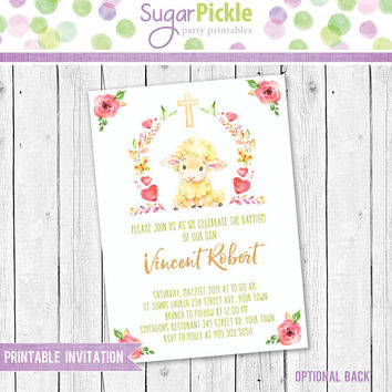 Shop christening invitations on wanelo baptism invitation baptism invite baptism for a boy baptism party invitation baptism stopboris Images