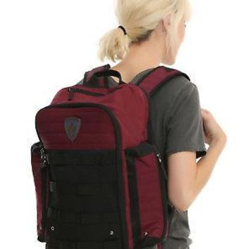 Licensed cool Marvel Guardians of the Galaxy Star-Lord Built Up Backpack Book Bag Burgundy