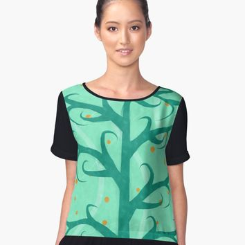 'Tree' Blusa sin mangas by valezar