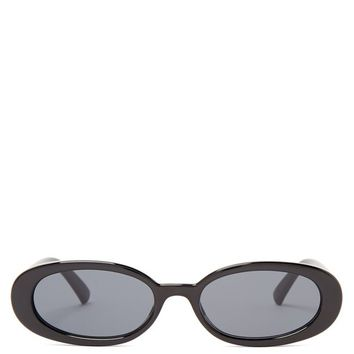 Outta Love oval sunglasses | Le Specs | MATCHESFASHION.COM US