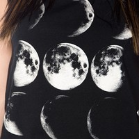 Serious Moonlight Shredded Muscle Tank - Black from Glam at Lucky 21