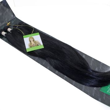 Illusions Brazilian Straight Bundle with Closure (4 pieces)