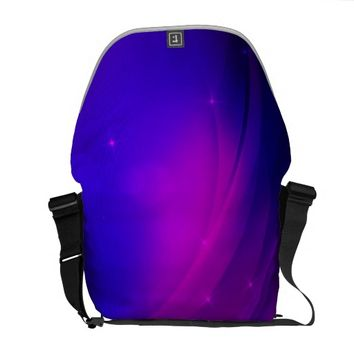 Dark Wave Messenger Bag