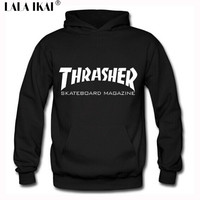 Thrasher Hoodie Hip Hop Men Thrasher Skateboard Brand Hoodies Sweatshirts Hooded Mens Skateboard Pullover Hoodies Men SMR0297-5