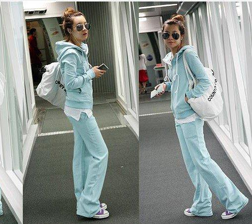 Casual Cotton Long Sleeve Athletic Suit at Online Apparel Store Gofavor