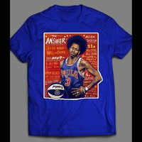 76ERS PHILLY FINEST ALLEN IVERSON THE ANSWER #3 OLDSKOOL T-SHIRT