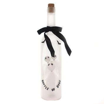 Halloween BOTTLE OF BOOS Plastic LED Ghosts 30701