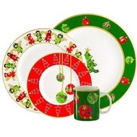 Skyros Winter Angel Plates, Bowls and Platters
