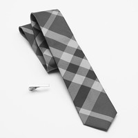 Apt. 9 Picnic in the Park Skinny Tie & Tie Bar - Men, Size: One