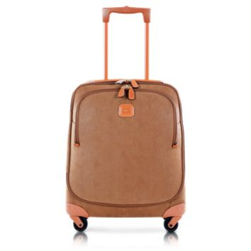 Bric's Designer Travel Bags Life Camel Micro-Suede X-Small Trolley