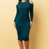 Ivana Dress - Dark Teal