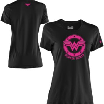 Under Armour Women's Power In Pink Alter Ego Wonder Woman Graphic T-Shirt - Dick's Sporting Goods