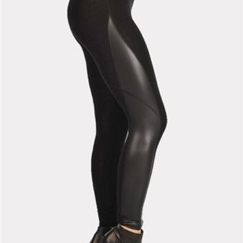 Hot Pant Legging - Black