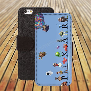 iphone 5 5s case UP cartoon iphone 4/ 4s iPhone 6 6 Plus iphone 5C Wallet Case , iPhone 5 Case, Cover, Cases colorful pattern L124