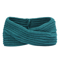 Turban Ear Warmer Headband - Teal