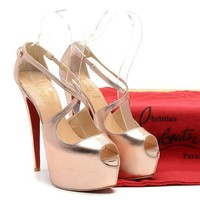 CL Christian Louboutin Fashion Heels Shoes-209