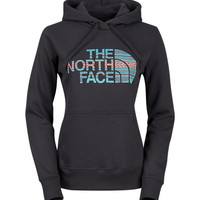 The North Face Women's Shirts & Tops Hoodies WOMEN'S TEXTURE STRIPE PULLOVER HOODIE