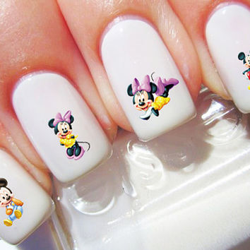 Mickey Mouse Disney Nail Decals