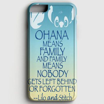 Ohana Means Family Lilo And Stitch iPhone 8 Case | casescraft
