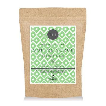 'ILI - Travel Size Coconut Cacao Coffee Scrub
