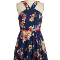 ModCloth Sleeveless A-line Right on Parlor Dress