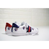 Gucci Ace Embroidered Low Top White With Wolf Sneaker