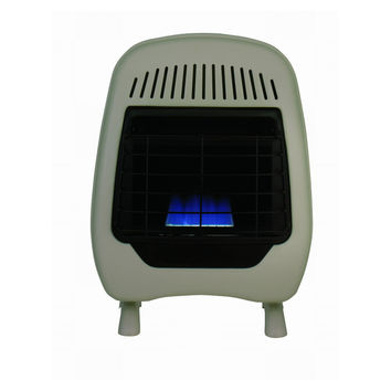 Feature Comforts 10000 BTU Blue Flame Heater with Thermostat