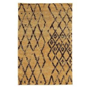 Linon Home Decor, Moroccan Collection Marrakes Camel and Brown 5 ft. x 7 ft. Indoor Area Rug, RUGMC0257 at The Home Depot - Mobile