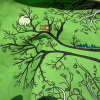Owl in a Tree Tote Bag