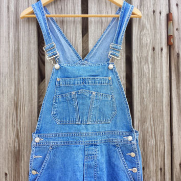 Vintage Retro GAP Denim Jean Overalls - Womens - Size S