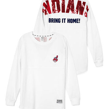 reputable site 18b85 6d895 Cleveland Indians Bling Varsity Crew - from VS PINK