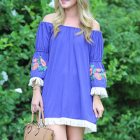 Summer Daze Off the Shoulder Dress