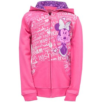 Minnie Mouse - Dreaming Girls Youth Zip Hoodie