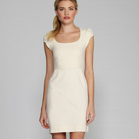 French Connection Georgia Cap-Sleeve Scoopneck Dress | Dillards.com