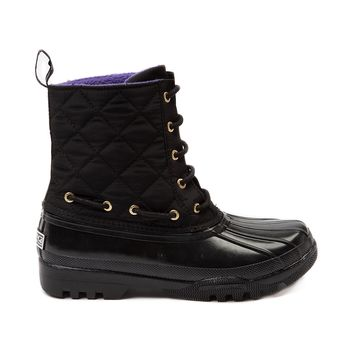 Womens Sperry Top-Sider Gosling Boot, Black | Journeys Shoes