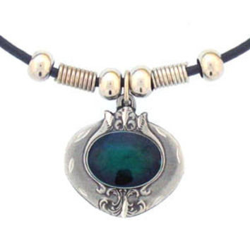 Earth Spirit Necklace - Emerald Stone