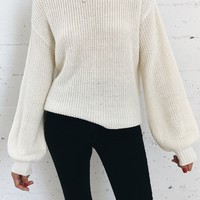 Belle Sweater - Ivory
