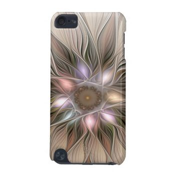Joyful Flower Abstract Floral Fractal Art iPod Touch (5th Generation) Cover
