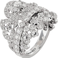 Hortensia 18ct white-gold diamond ring